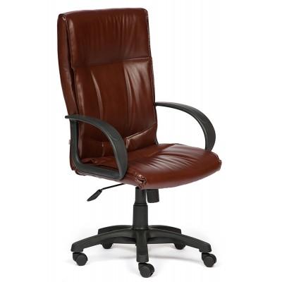 Кресло руководителя Tetchair Davos Иск. кожа коричневая 2 TONE