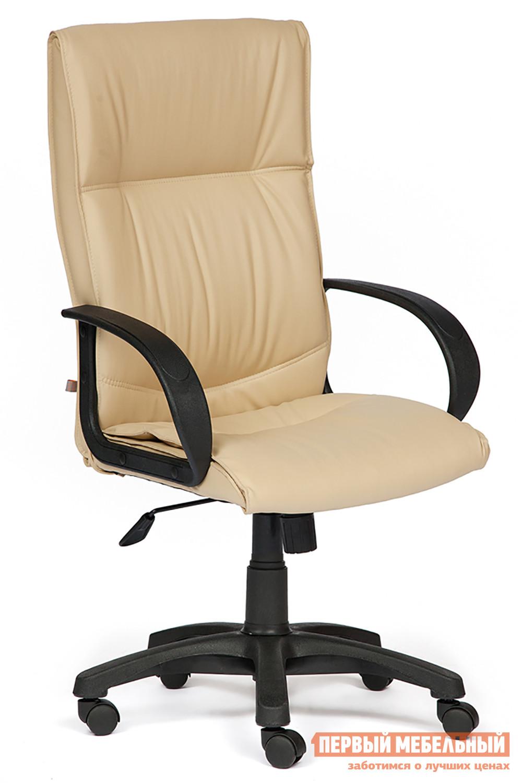 Кресло руководителя Tetchair Davos Иск. кожа бежевая PU C36-34