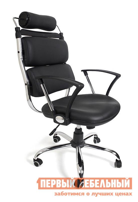 Кресло руководителя Tetchair Orlando (CZ-064) Иск. кожа черная PU C36-6