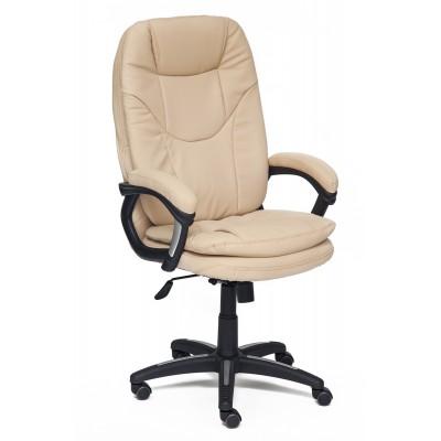 Кресло руководителя Tetchair COMFORT Иск. кожа бежевая PU C36-34