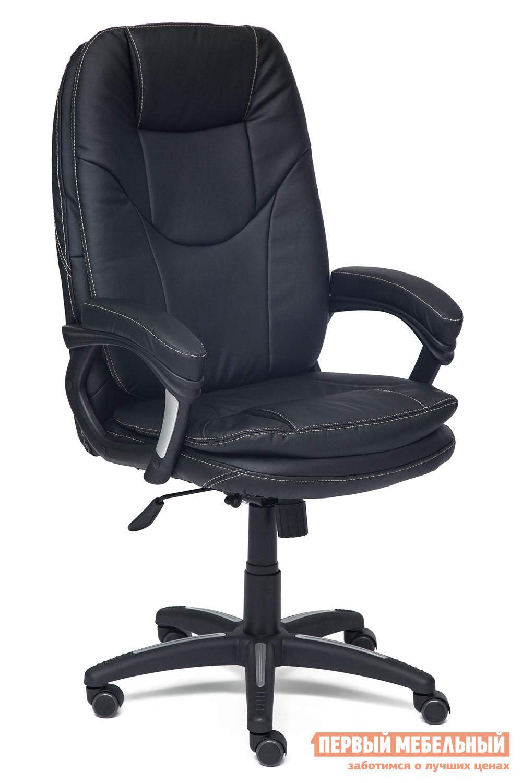 Кресло руководителя Tetchair COMFORT Иск. кожа черная PU C36-6