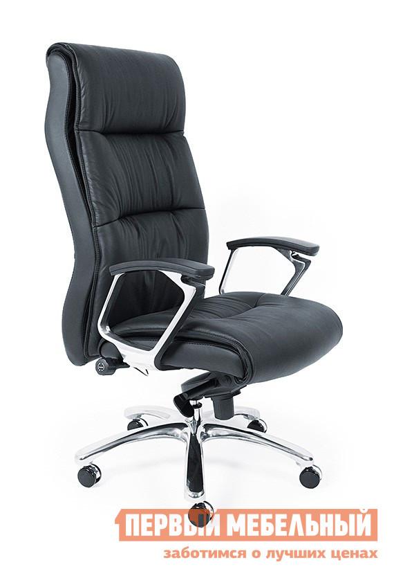 Кресло руководителя Tetchair BEKLY (K189B) Черная кожаКресла руководителя<br>Габаритные размеры ВхШхГ 1260 / 1320x740x510 мм. Стильное кресло для руководителей, выполненное в лаконичном классическом дизайне, будет прекрасно смотреться как в офисе, так и в домашнем кабинете. Высокая мягкая спинка и удобное сидение обеспечат комфортное пребывание в кресле во время работы или отдыха. Натуральная кожа. Механизм качания с фиксацией угла наклона. Высота спинки: 740 мм. Высота от пола до сидения: 520/580 мм. Ширина сидения: 490 мм. Хромированная крестовина. Хромированные подлокотники с накладками из натуральной кожи. Максимальная нагрузка: 100 кг.<br><br>Цвет: Черная кожа<br>Цвет: Черный<br>Высота мм: 1260 / 1320<br>Ширина мм: 740<br>Глубина мм: 510<br>Кол-во упаковок: 1<br>Форма поставки: В разобранном виде<br>Срок гарантии: 1 год<br>Тип: До 80 кг, До 100 кг<br>Материал: Кожаные<br>Особенности: С подлокотниками, С хромированной крестовиной