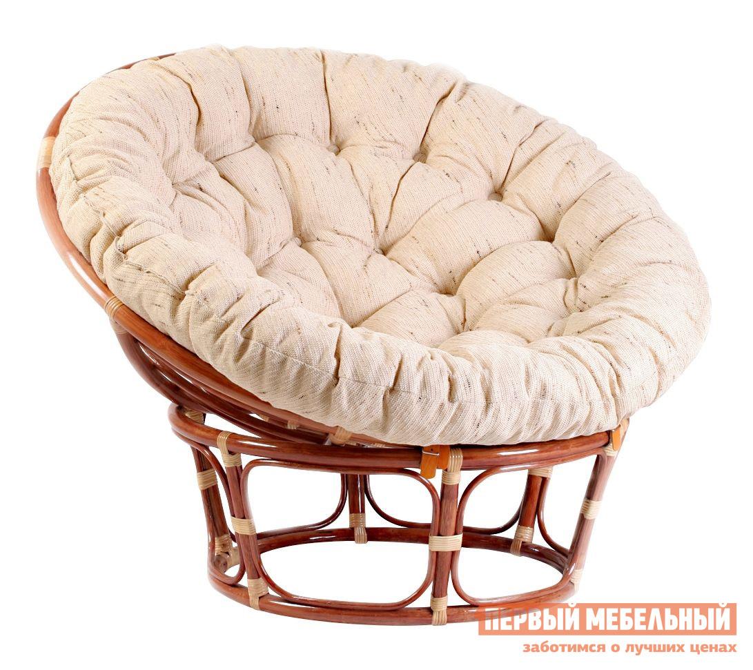 Плетеное круглое кресло для дачи Tetchair Papasan 23/01 + Матрас для кресла Papasan 23/01 пластиковые кресла для дачи запорожья