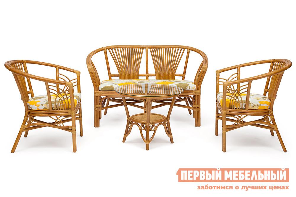 где купить Комплект плетеной садовой мебели Tetchair ATLANTA по лучшей цене