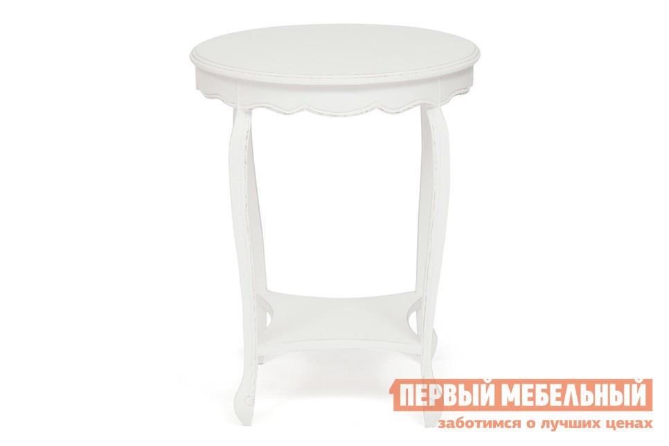 Фото Журнальный столик Tetchair Столик Secret De Maison BOURGEOIS (mod. 217-1102) Античный белый. Купить с доставкой