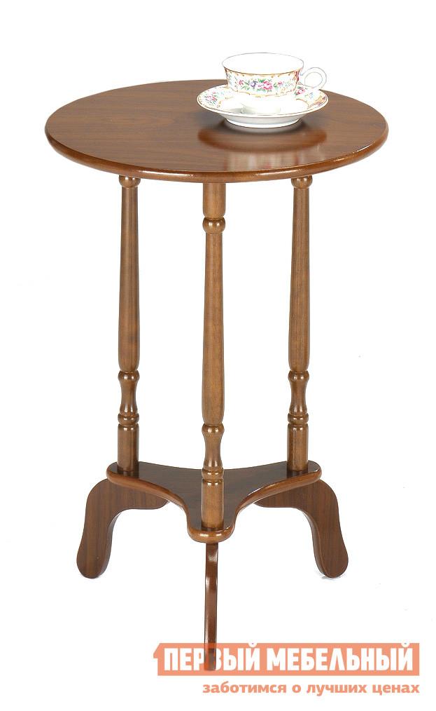 Журнальный столик Tetchair SR-8086R ВишняЖурнальные столики<br>Габаритные размеры ВхШхГ 590x390x390 мм. Небольшой круглый столик на высокой треножке.  Модель универсальна в своем применении: ее можно разместить в прихожей для разных мелочей, необходимых под рукой.  Столик будет гармонично смотреться в спальне или гостиной: его можно использовать как кофейный или журнальный. Стол лаконичен в исполнении и станет прекрасным дополнением классического интерьера или контрастным элементом в современной обстановке. Диаметр столешницы — 390 мм, высота стола — 590 мм. Ножка изготавливается из массива гевеи, столешница — МДФ.<br><br>Цвет: Коричневое дерево<br>Высота мм: 590<br>Ширина мм: 390<br>Глубина мм: 390<br>Кол-во упаковок: 1<br>Форма поставки: В разобранном виде<br>Срок гарантии: 1 год<br>Тип: Кофейные<br>Материал: МДФ<br>Материал: Массив дерева<br>Порода дерева: Гевея<br>Форма: Круглые<br>Размер: Маленькие<br>Стиль: Классический