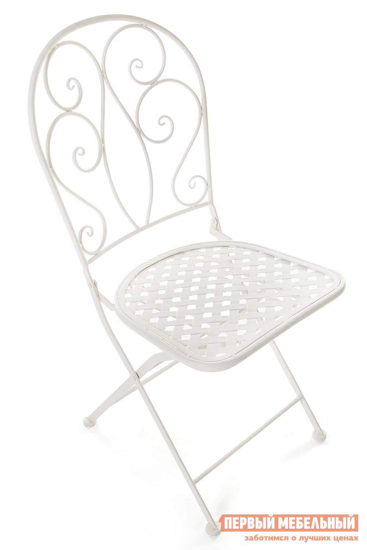 Садовое кресло Tetchair Madlen БелыйСадовые стулья и кресла<br>Габаритные размеры ВхШхГ 905x430x480 мм. Утонченный стул во французском стиле, достойный лучших летних кафе Парижа, добавит вашему загородному участку их изящества и шарма.  Благодаря удобному механизму складывания, его хранение не вызывает неудобств. Прочный стальной сплав с напылением краски обеспечит модели надежность и долговечность.<br><br>Цвет: Белый<br>Высота мм: 905<br>Ширина мм: 430<br>Глубина мм: 480<br>Форма поставки: В разобранном виде<br>Срок гарантии: 1 год<br>Тип: Складные<br>Тип: Кованые<br>Материал: Металл<br>С жестким сиденьем: Да<br>Без подлокотников: Да