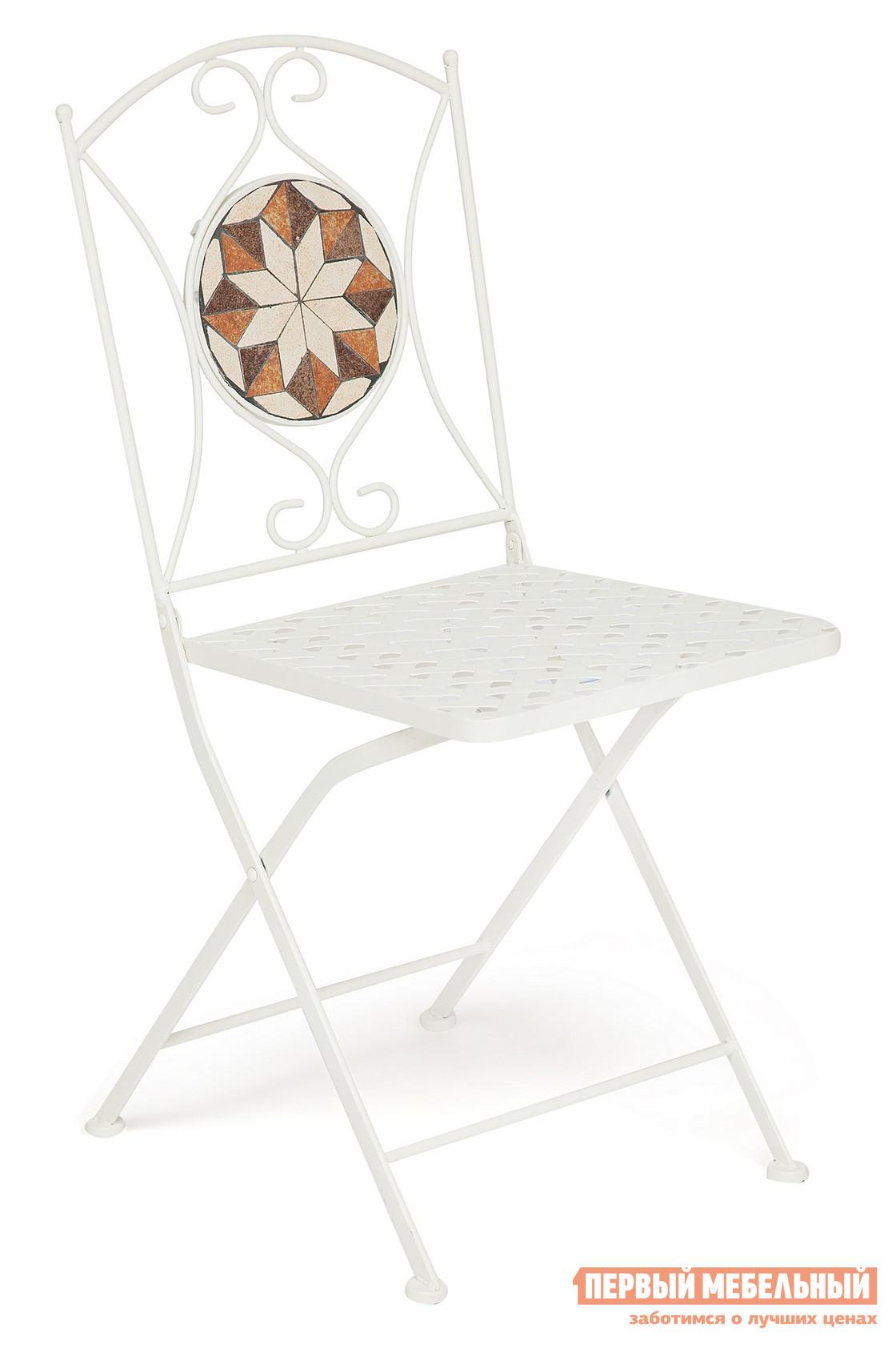 Садовый складной стул Tetchair JULIA NEW (плитка звезда) садовый складной стул tetchair julia new плитка звезда