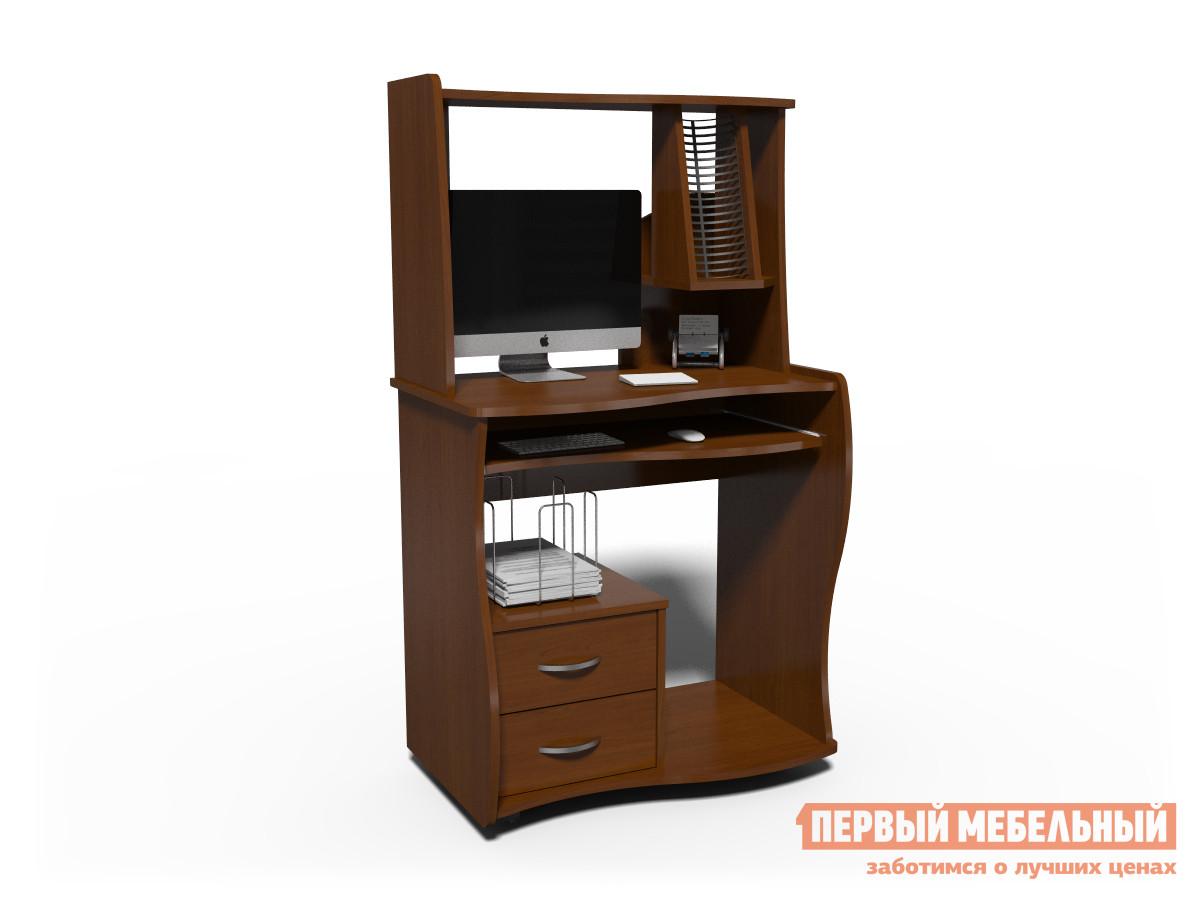 Компьютерный стол Джаз КС-11 Н-1 Итальянский орех
