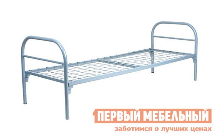 Металлическая кровать Метмебель КМ18 СерыйМеталлические кровати<br>Габаритные размеры ВхШхГ 658x1964x712 мм. Односпальная металлическая кровать Омсо-1 КМ18.  Эта классическая модель может быть использована в качестве спального места в загородном доме.  Также кровать идеально подходит для спальной зоны в детский садах, летнем лагере или гостинице.  Металлическая кровать КМ18 имеет спальное место размером (ШхГ): 1900 х 700 мм.  Высота от пола до спального места составляет 380 мм, что удобно для ребенка и взрослого человека. Кровать Омсо-1 не имеет острых углов, спинка выглядит в форме дуги.  Детали выполнены из трубы диаметром 20 и 32 мм.  Металл тщательно обработан полимерным напылением, которое имеет защитные свойства и продлевает срок службы.  Соединение между деталями осуществляется с помощью клин-петли.  Сетчатое основание имеет крупную ячейку, что обеспечивает хорошую вентиляцию и проветриваемость матраса. Максимальная нагрузка на кровать составляет 120 кг. На нашем сайте вы сможете подобрать все необходимые аксессуары для оформления зоны отдыха.  На сайте представлены как детские так и взрослые матрасы, а также различная спальная мебель: прикроватные тумбы, шкафы для хранения одежды, комоды, зеркала и другое.<br><br>Цвет: Серый<br>Высота мм: 658<br>Ширина мм: 1964<br>Глубина мм: 712<br>Форма поставки: В разобранном виде<br>Срок гарантии: 12 месяцев<br>Тип: Одноярусные<br>Размер: Спальное место 70Х190<br>С сеткой: Да