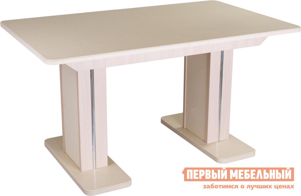 Раздвижной обеденный стол Домотека Альфа ПР-2 раздвижной большой стеклянный обеденный стол кубика нагано 2 стекло стекло темно коричневое венге