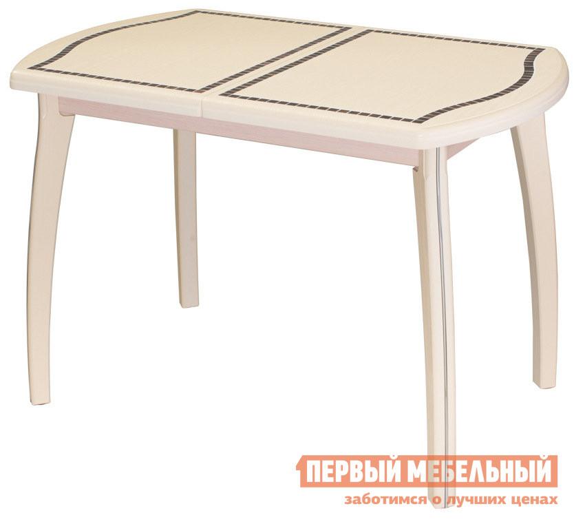 Раздвижной обеденный стол с мозаикой Домотека Толедо ПО МЗ 36