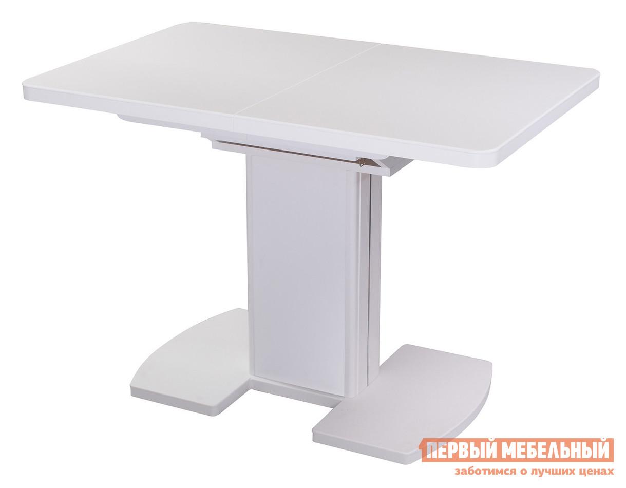 Обеденный стол Домотека Реал ПР КМ 05 Белый / Белый 04/БЛ