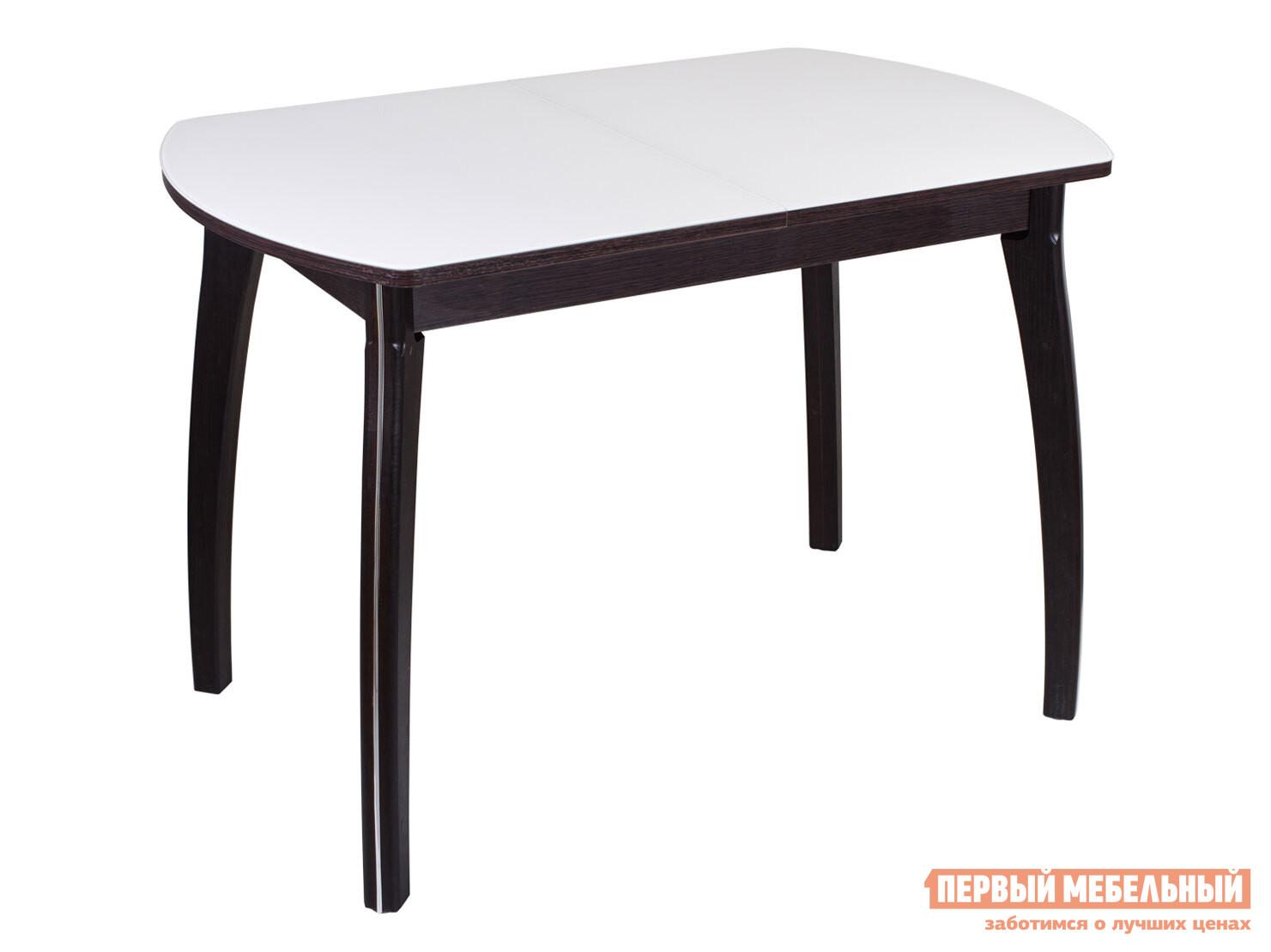 Фото - Кухонный стол Домотека Танго ПО со стеклом с ножками 07 стол домотека танго по бл ст 71 07 вп бл