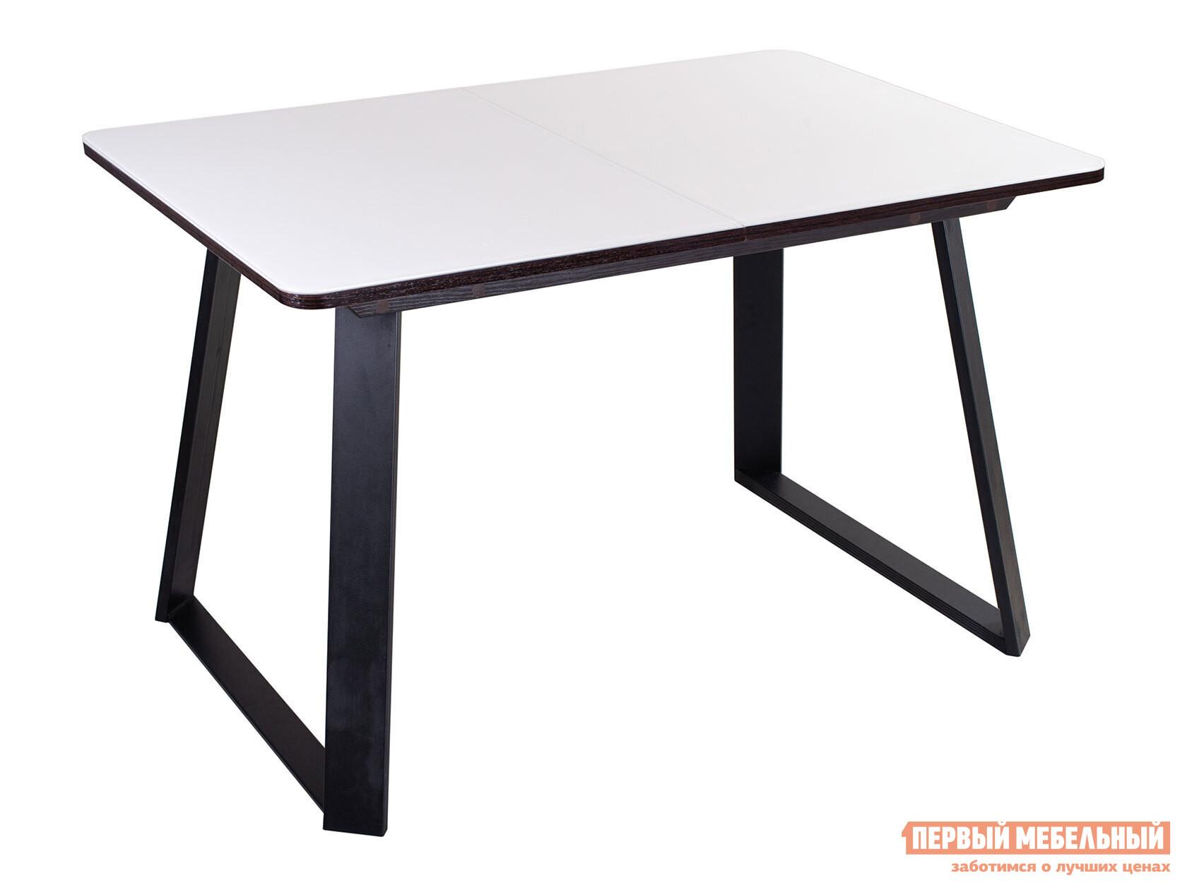 Кухонный стол Домотека Танго ПР 91-1 со стеклом