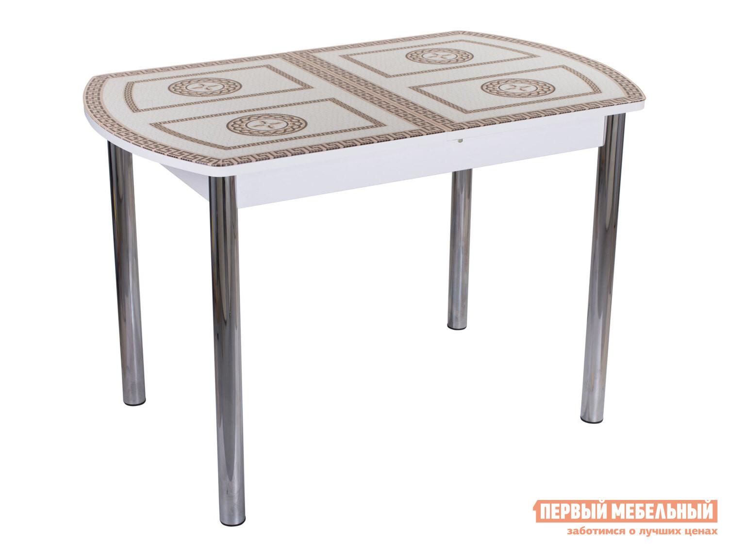 Фото - Кухонный стол Домотека Танго ПО со стеклом с ножками 02 стол домотека танго по бл ст 71 07 вп бл