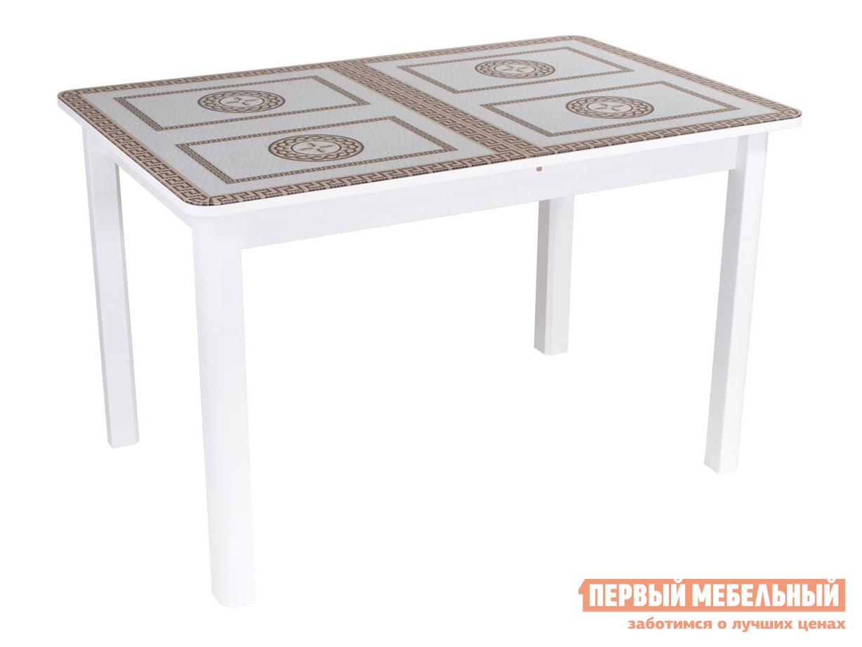 Кухонный стол Домотека Танго ПР со стеклом с ножками 04