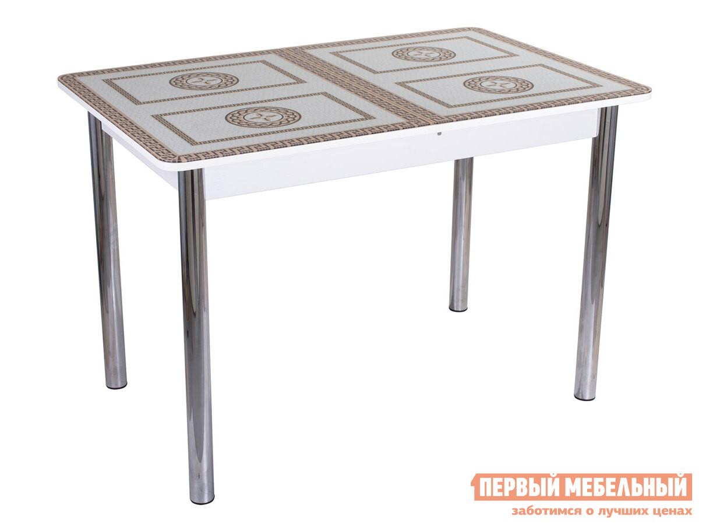 Кухонный стол Домотека Танго ПР 02 со стеклом