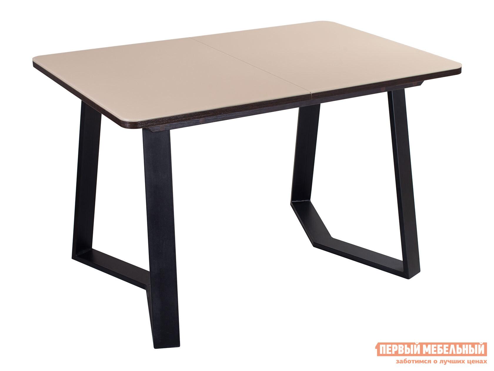 Кухонный стол Домотека Танго ПР 92-1 со стеклом