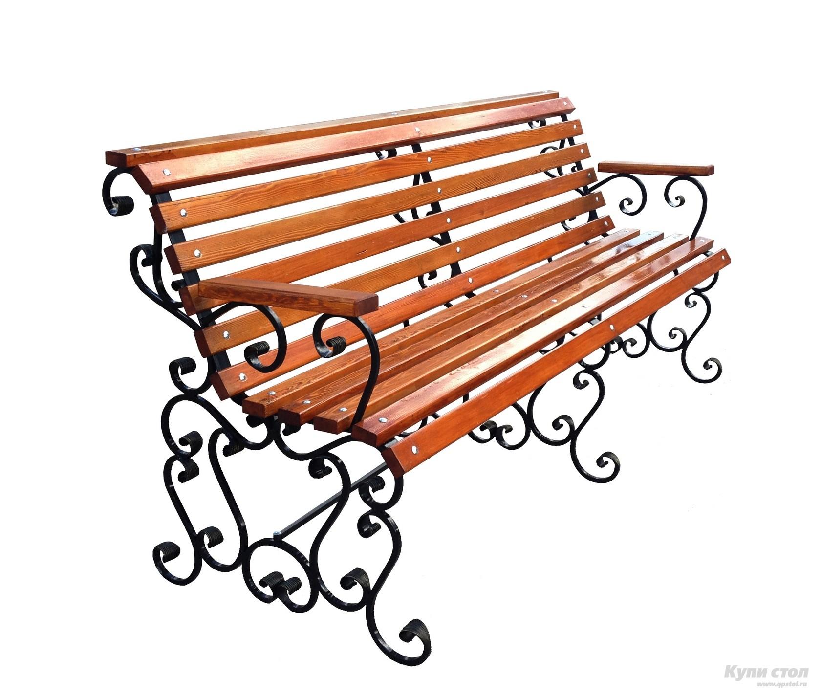 Деревянная скамейка СК-25