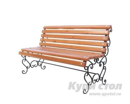 Деревянная скамейка СК-35