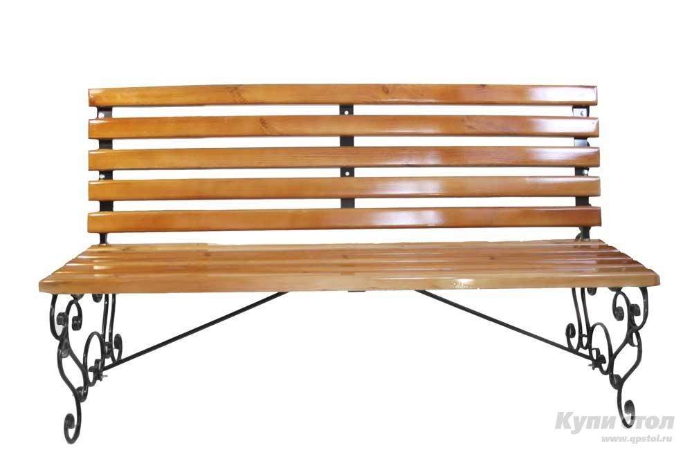 Деревянная скамейка СК-35 КупиСтол.Ru