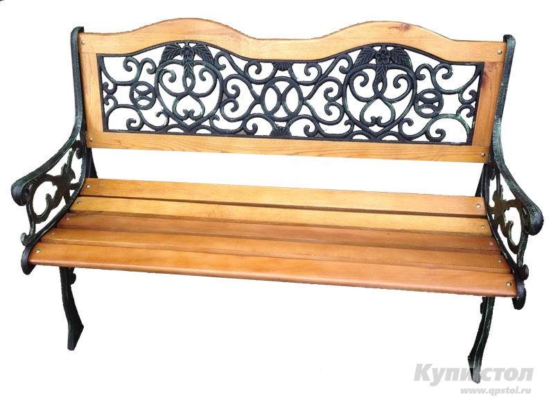 Деревянная скамейка G-252