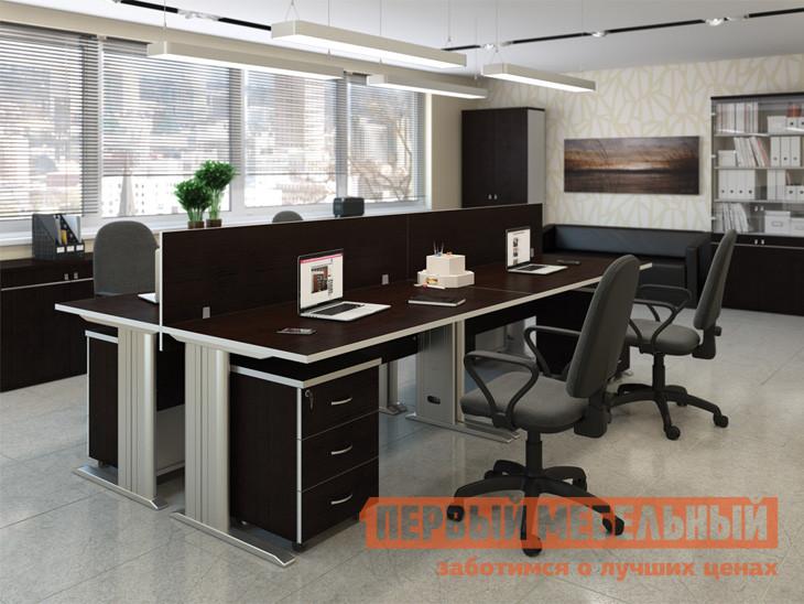 Комплект офисной мебели Pointex Свифт К1 Темный комплект офисной мебели pointex свифт к3 темный