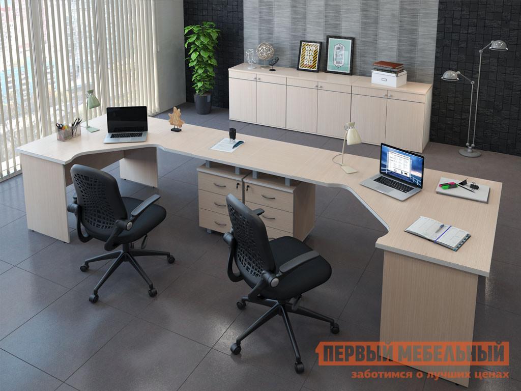 Комплект офисной мебели Pointex Свифт К2 Светлый