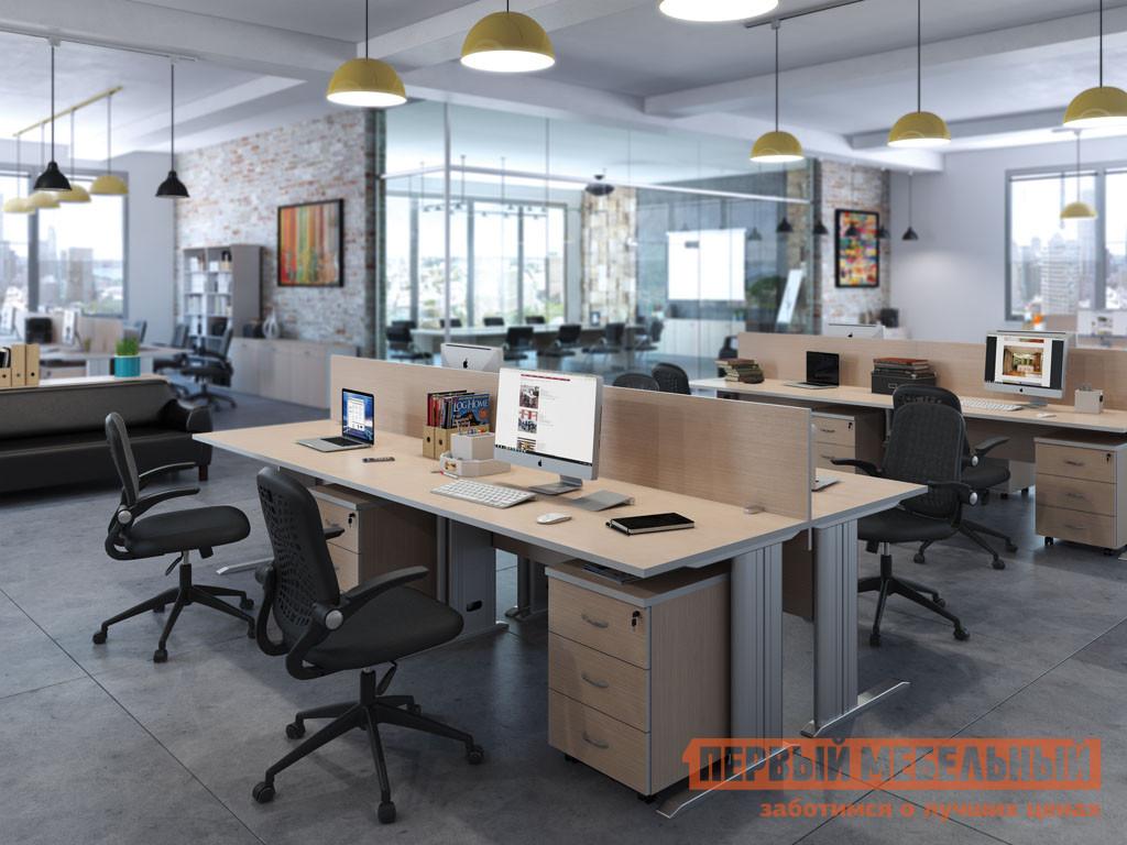 Комплект офисной мебели Pointex Свифт К1 Светлый комплект офисной мебели pointex свифт к3 темный