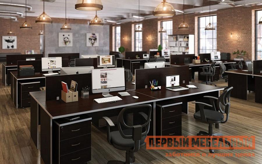 Комплект офисной мебели Pointex Свифт К3 Темный