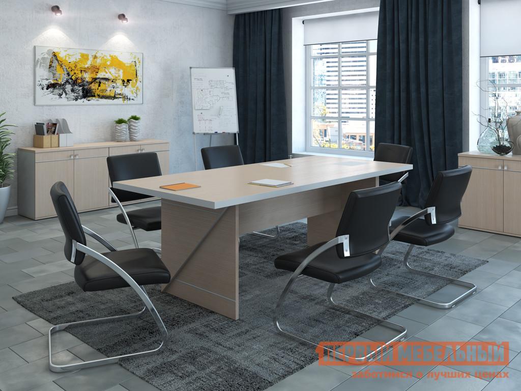 Комплект офисной мебели Pointex Зум Светлый ПК1