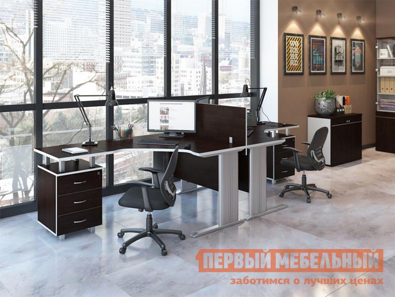 Комплект офисной мебели Pointex Свифт К2 Темный комплект офисной мебели pointex свифт к3 темный
