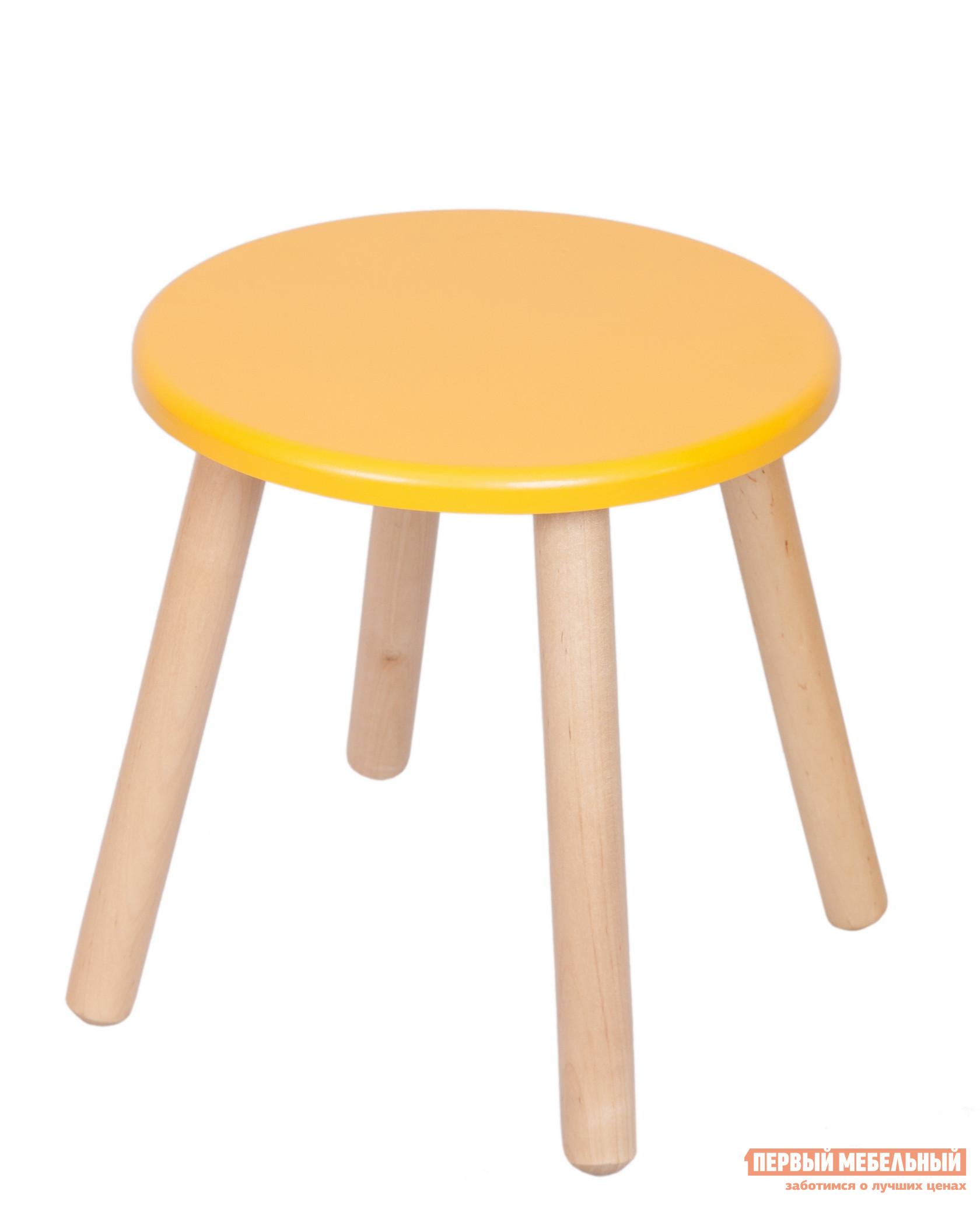 Столик и стульчик РусЭкоМебель Табурет ЭКО Эко желтый