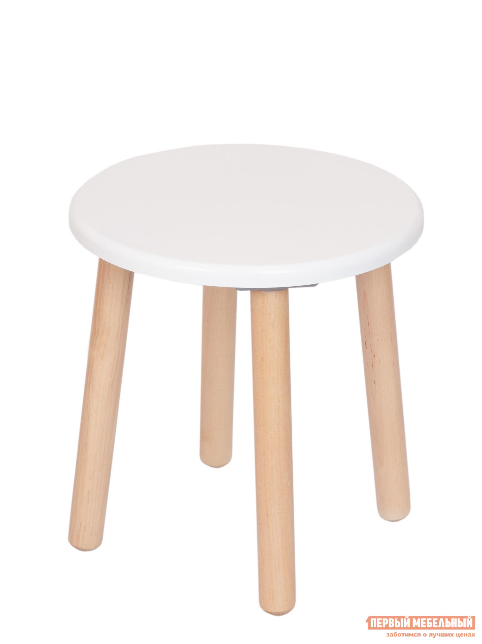 Столик и стульчик РусЭкоМебель Табурет ЭКО Эко белый