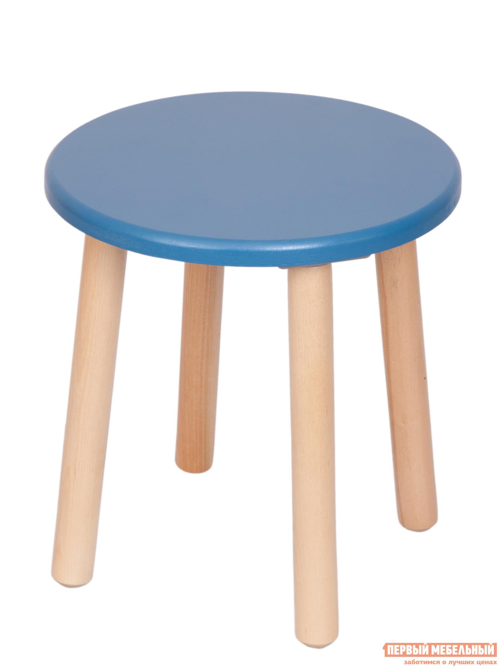 Столик и стульчик РусЭкоМебель Табурет ЭКО Эко синий
