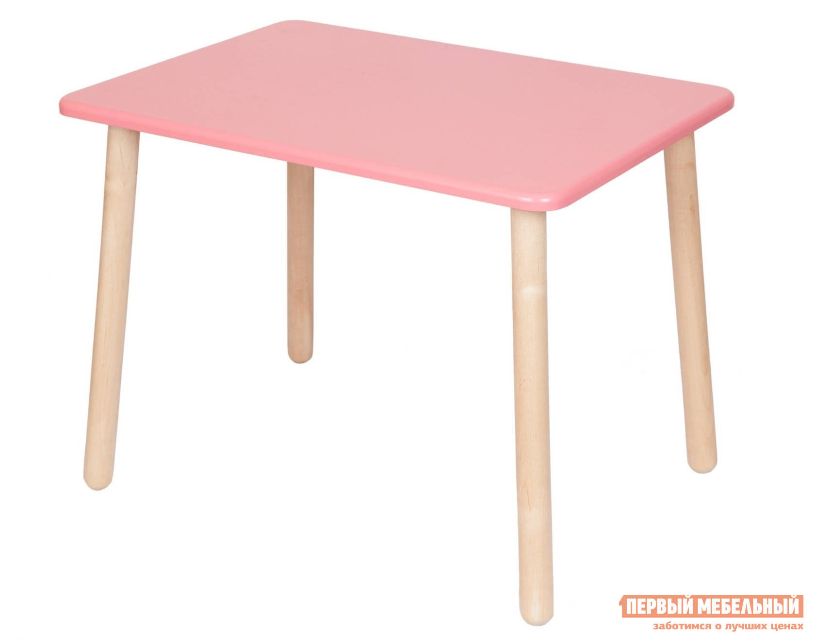 Столик и стульчик РусЭкоМебель Стол Большой 70*50 ЭКО Эко розовый