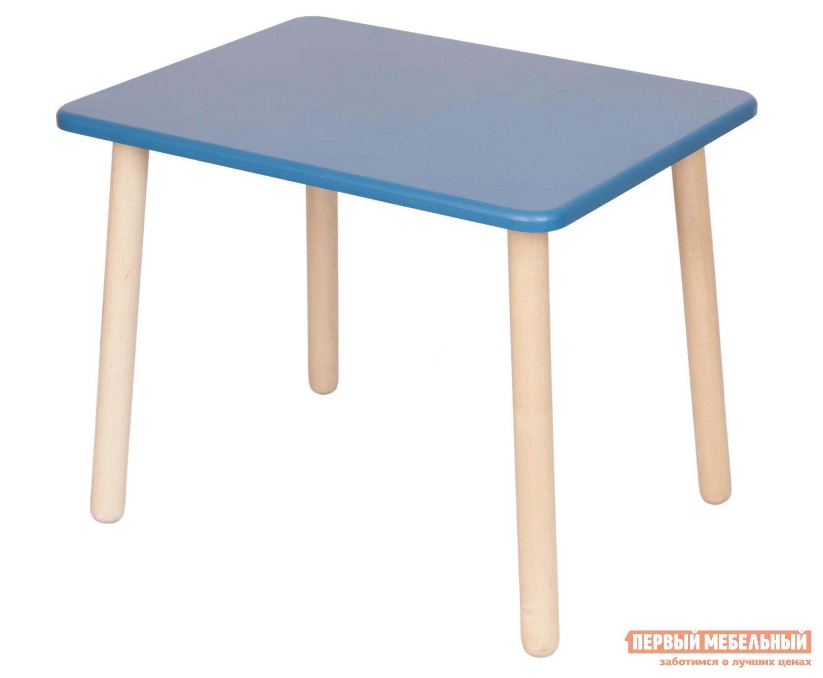 Столик и стульчик РусЭкоМебель Стол Большой 70*50 ЭКО Эко синий