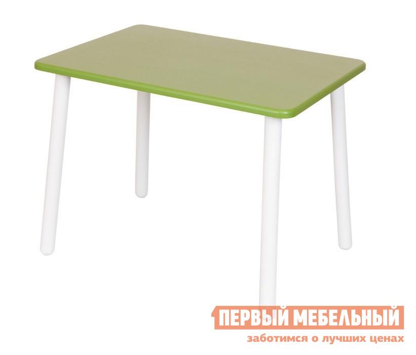 Столик и стульчик РусЭкоМебель Стол Большой 70*50 Престиж Престиж зеленыйСтолики и стульчики<br>Габаритные размеры ВхШхГ 520x700x500 мм. Большой детский стол поможет организовать место для творчества малыша, также он отлично справиться с ролью обеденного стола, если к ребенку пришли гости.  Стол так похож на мебель для взрослых, но создан специально для малышей в возрасте от 1 года до 7 лет. Ножки столика изготовлены из натурального дерева — массива березы, столешница — МДФ.  Окраска столешницы и ножек выполнена безопасной для малышей эко-краской.  Все детали тщательно отполированы, покрыты лаком.  Форма ножек стола расширена для придания изделию дополнительной устойчивости.<br><br>Цвет: Престиж зеленый<br>Цвет: Зеленый<br>Высота мм: 520<br>Ширина мм: 700<br>Глубина мм: 500<br>Кол-во упаковок: 1<br>Форма поставки: В разобранном виде<br>Срок гарантии: 12 месяцев<br>Материал: Деревянные, Из натурального дерева<br>Порода дерева: из березы<br>Пол: Для девочек, Для мальчиков