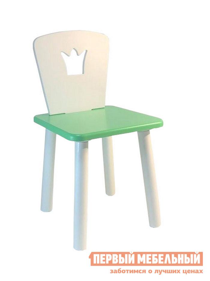 Столик и стульчик  Детский Квадратный Стул Eco Crown Нежно-зеленый