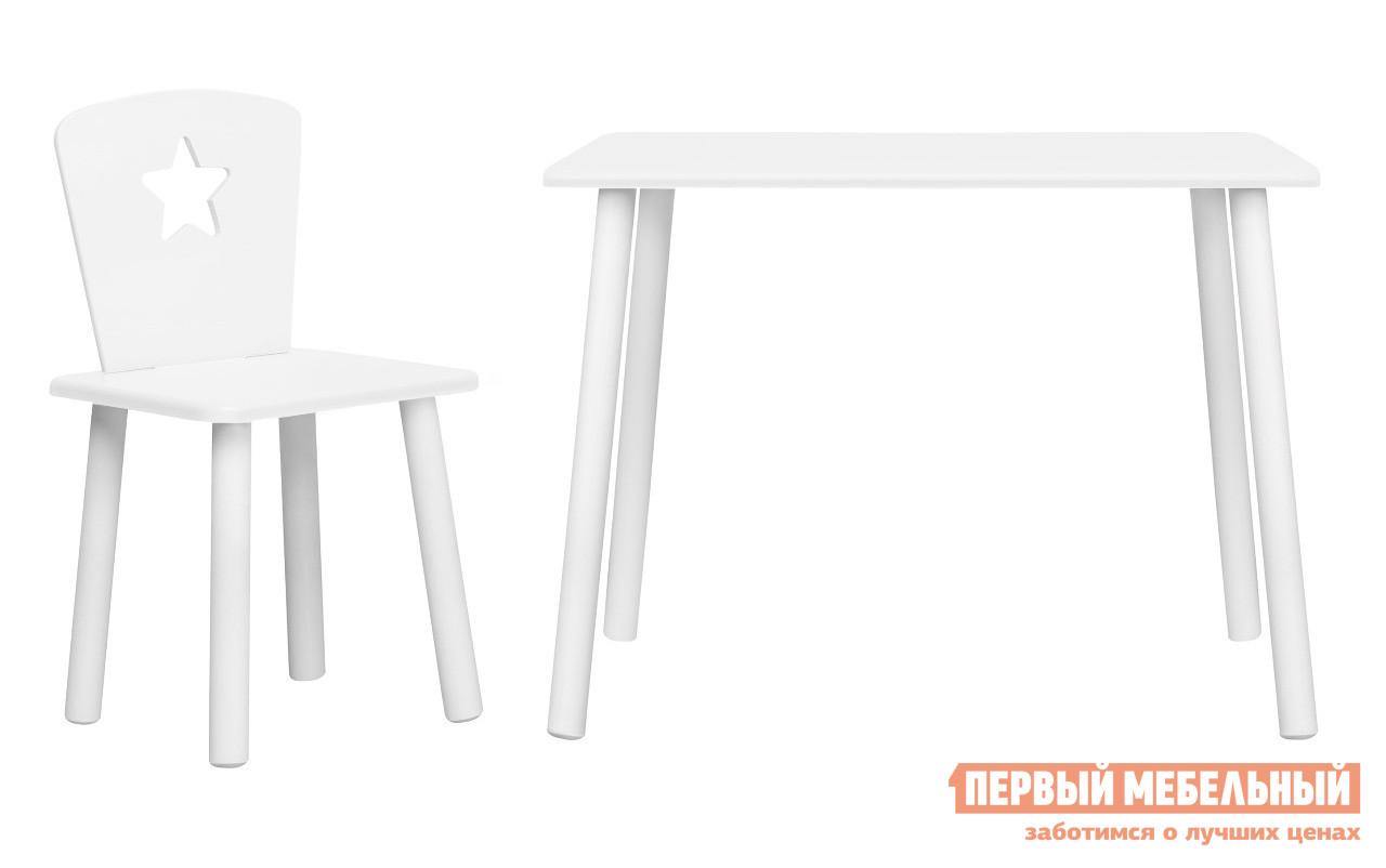 Столик и стульчик  Набор детской мебели Eco Star Белый