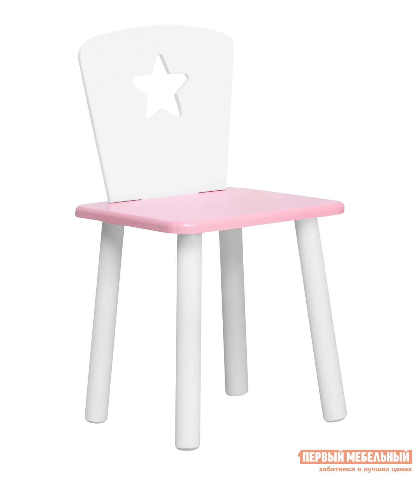 Столик и стульчик  Детский Стул Eco Star Нежно-розовый