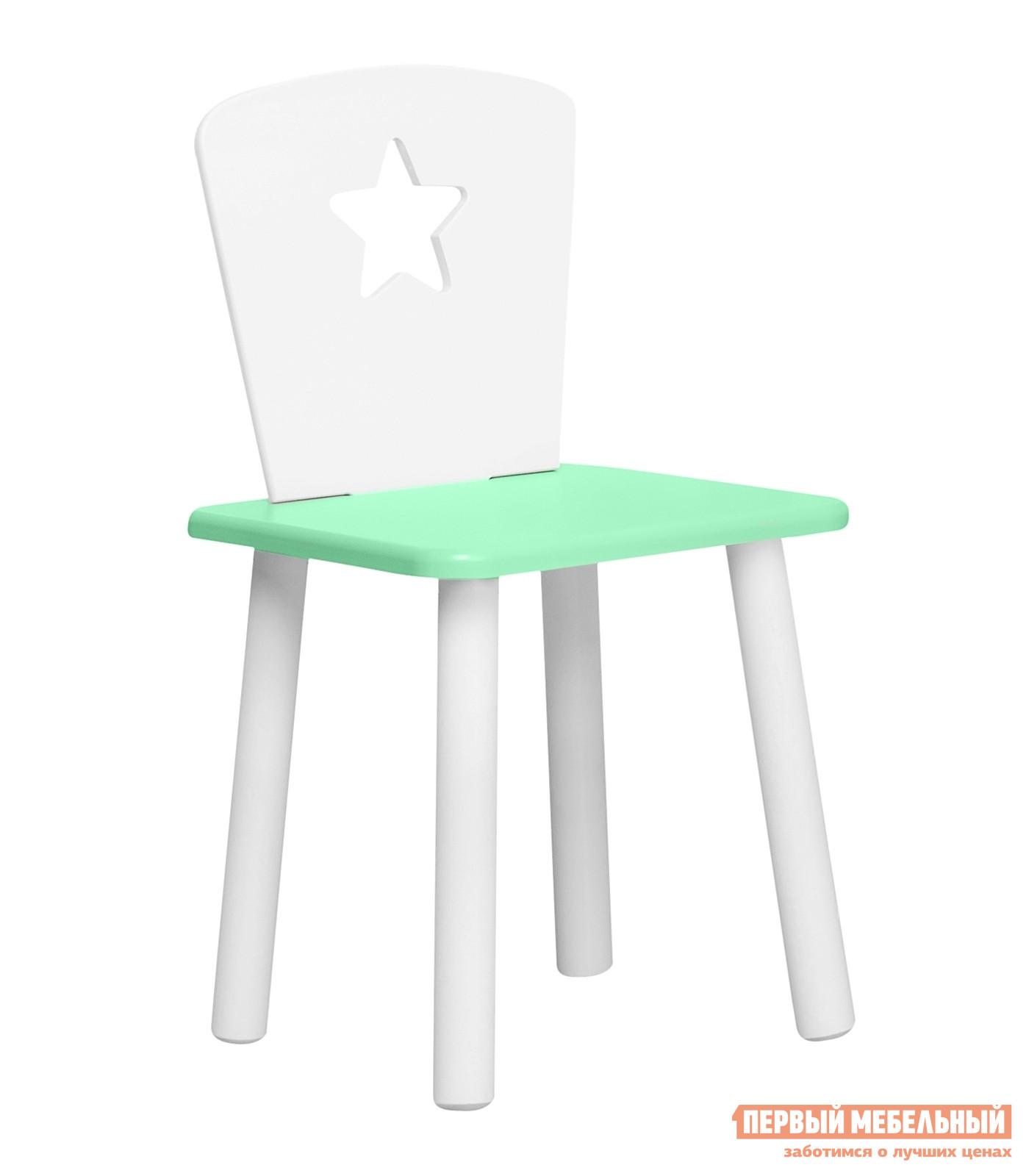 Столик и стульчик  Детский Стул Eco Star Нежно-зеленый