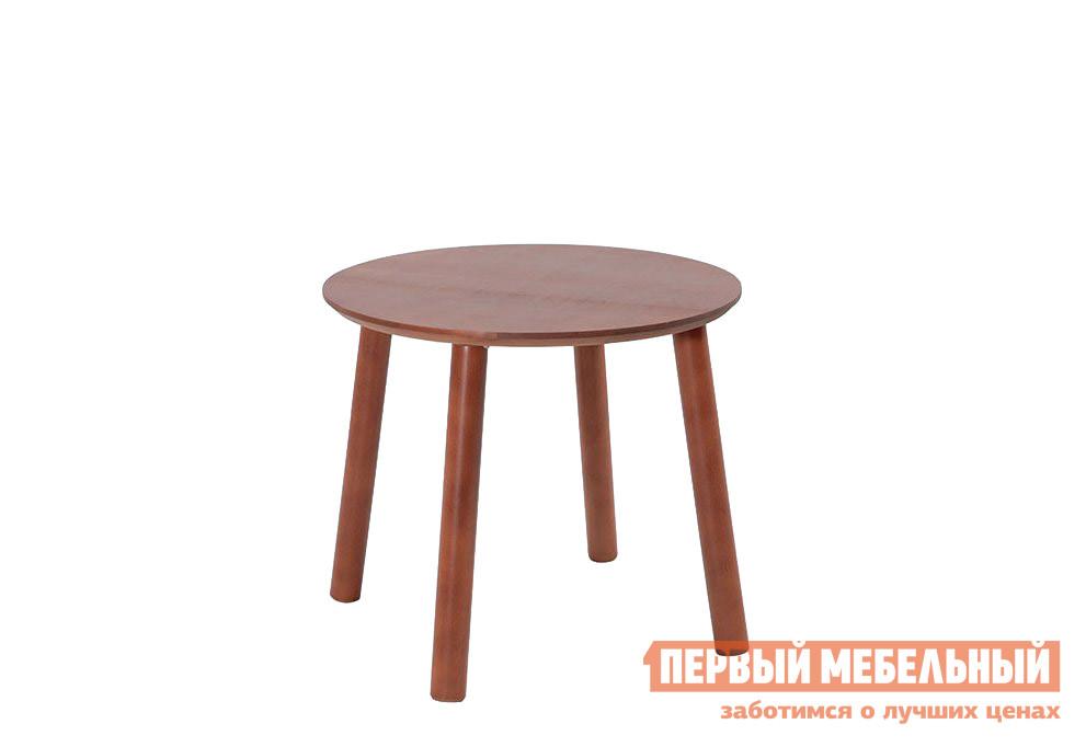Кофейный столик из массива дерева Боровичи Стол журнальный круглый массив 500