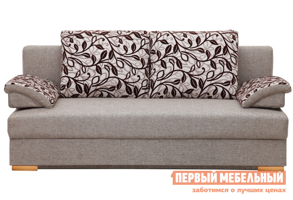 Диван Боровичи Лира 1400/1500 Модерн Эскада / Flower 2А (I категория), 1350 Х 1850 мм