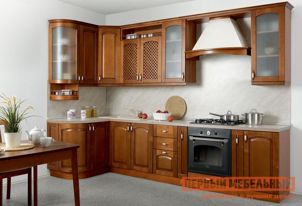 Комплект мебели для кухни Боровичи Массив-Люкс 1335х2500