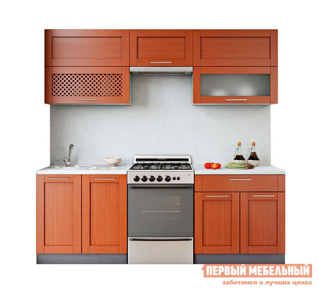 Кухонный гарнитур Боровичи Симпл Массив 2200 мм (блюм) кухонный гарнитур трия фэнтези 120 см