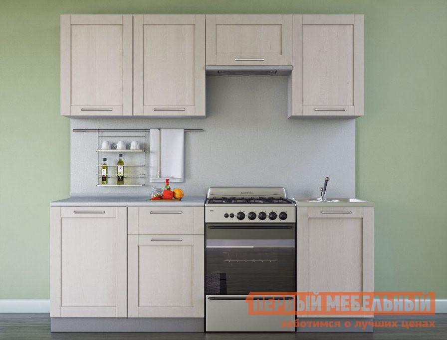 Кухонный гарнитур из массива дерева Боровичи Симпл Массив 2100 мм