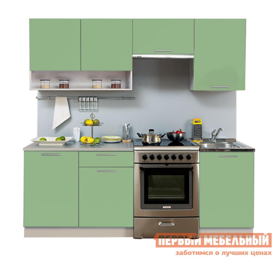Кухонный гарнитур Боровичи Симпл 2100 мм с нишей
