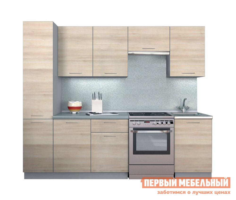 Кухонный гарнитур Боровичи Симпл 2500 мм кухонный гарнитур трия фэнтези 120 см
